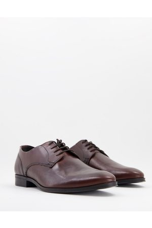 ASOS DESIGN Derby shoes in leather