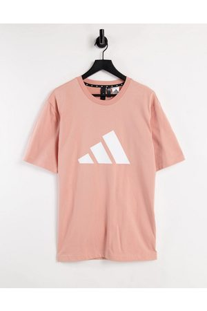 adidas performance Adidas Training t-shirt with large BOS logo in