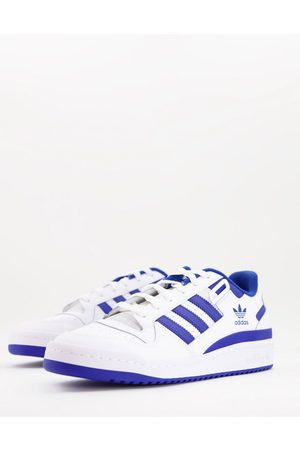 adidas Originals Men Trousers - Forum Low trainers in and blue
