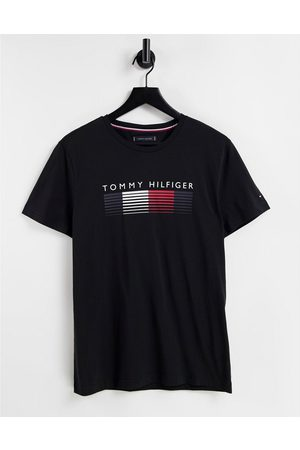 Tommy Hilfiger Men Short Sleeve - Faded chest logo t-shirt in