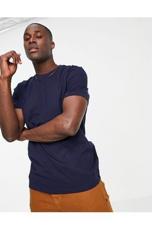 New Look Organic cotton t-shirt in navy