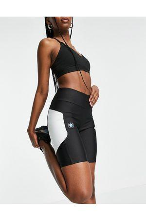 PUMA BMW MMS Street legging shorts in