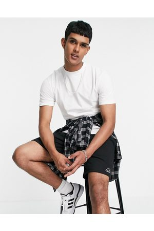 River Island Shorts and t-shirt set in and black