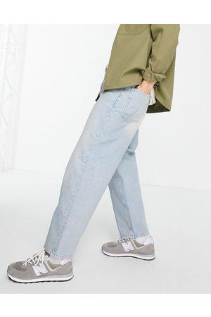ASOS Barrel jeans in 90's light wash