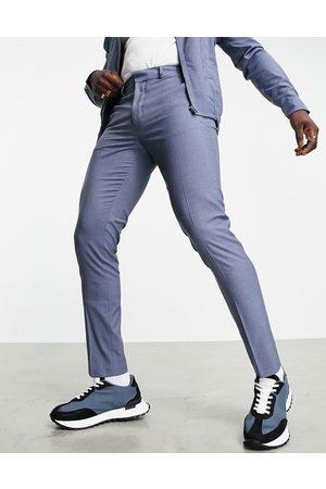 ASOS Slim smart trousers co-ord in denim