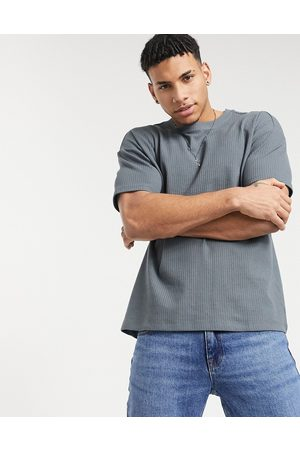 New Look Organic cotton waffle t-shirt in