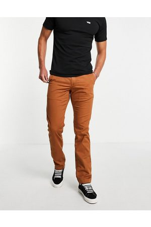 Vans Authentic chino stretch trousers in argan oil