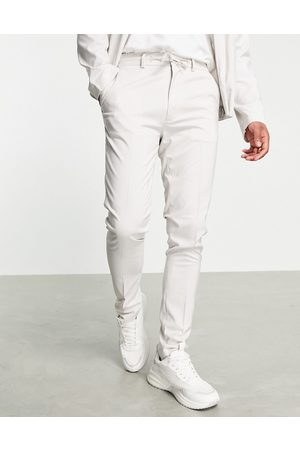ASOS Skinny smart trousers co-ord in ice