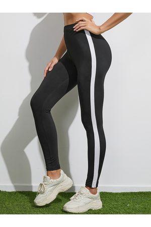 Yoins Striped Super Stretch Yoga Leggings