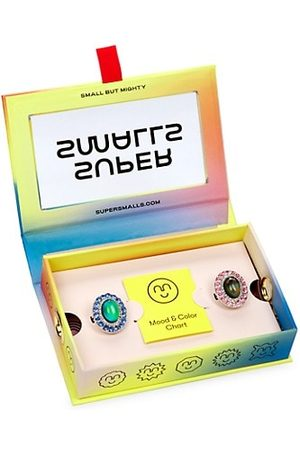 Super Smalls Girls Rings - Double Time Mood Rings