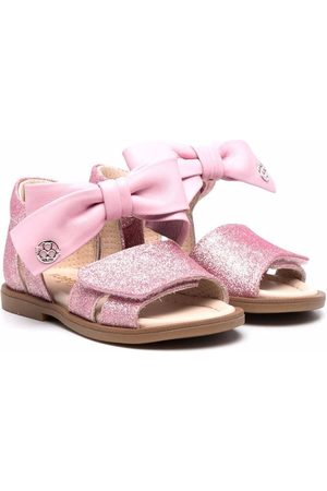 Florens Bow-detailed touch-strap sandals