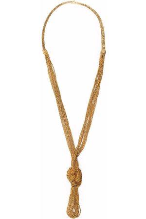 Aurélie Bidermann Miki Dora knot statement necklace