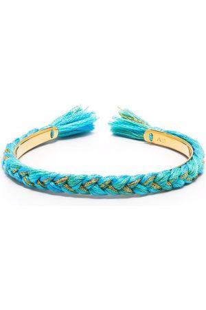 Aurélie Bidermann Copacabana braided slim bangle