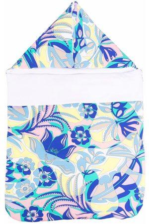 Emilio Pucci Junior Baby Sleeping Bags - Samoa print sleeping bag