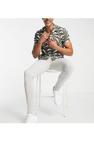ASOS DESIGN Tall super skinny oxford smart trouser in
