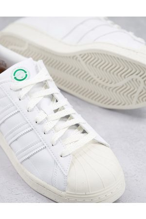 adidas Men Sneakers - Superstar trainers in and green