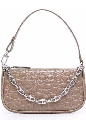 By Far Mini Rachel chain shoulder bag