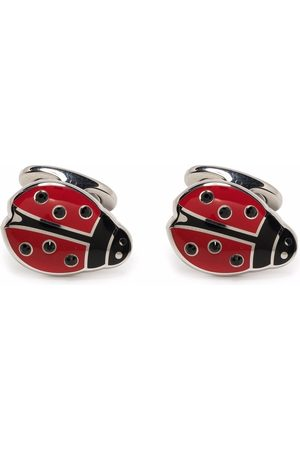 Etro Men Cufflinks - Brass ladybird cufflinks
