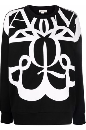 Alexander McQueen Graphic-print cotton sweatshirt