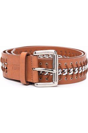 Gianfranco Ferré Women Belts - 2000s lace-up detailing leather belt