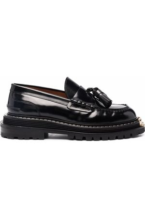 Sandro Iron chunky sole loafers