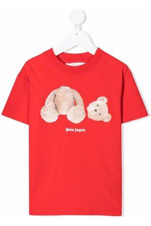 Palm Angels Teddy bear-print cotton T-shirt