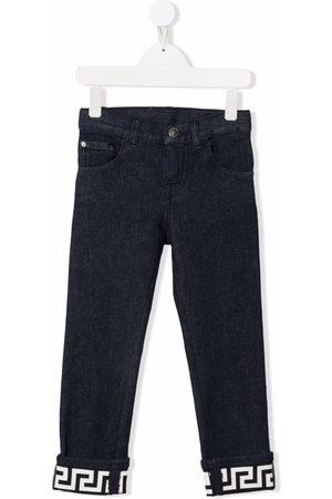 VERSACE Greca slim-cut jeans