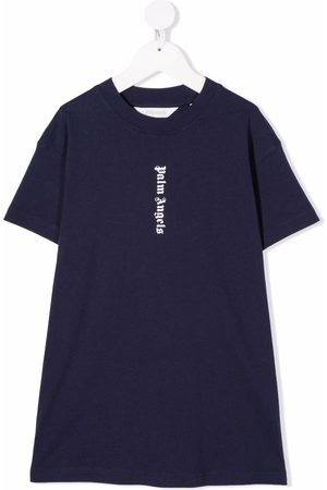 Palm Angels Kids Logo-print T-shirt dress