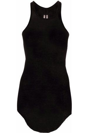 Rick Owens U-neck sleeveless top
