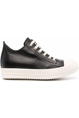 Rick Owens Low-top leather sneakers