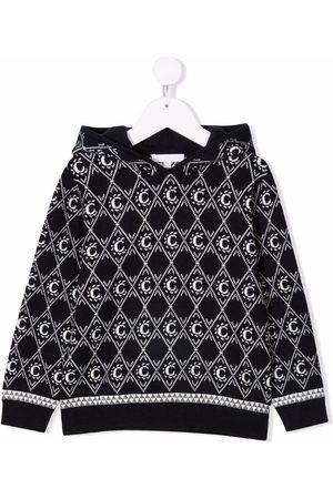 Chloé Stitched C logo hoodie