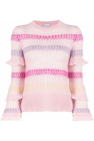RED Valentino Long-sleeve knitted top