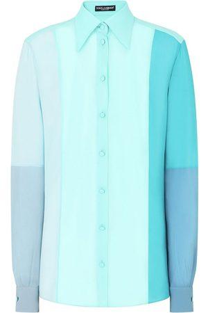 Dolce & Gabbana Colour block long-sleeve shirt