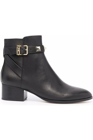 Michael Kors Britton stud-embellished leather ankle boots