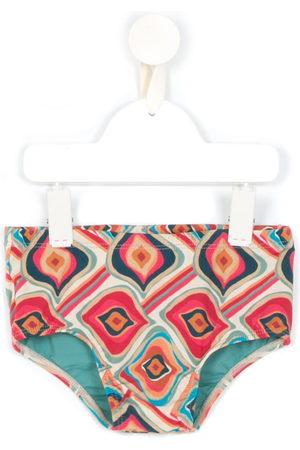 Lygia & Nanny Printed Bob swimming trunks