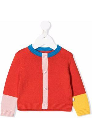 Stella McCartney Kids Color-block knitted cardigan