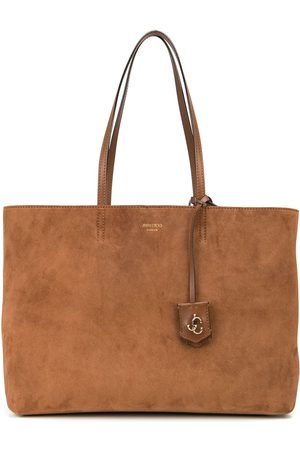 Jimmy Choo Suede-leather tote bag