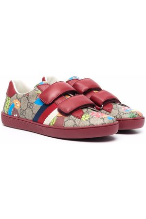 Gucci GG-monogram touch-strap sneakers