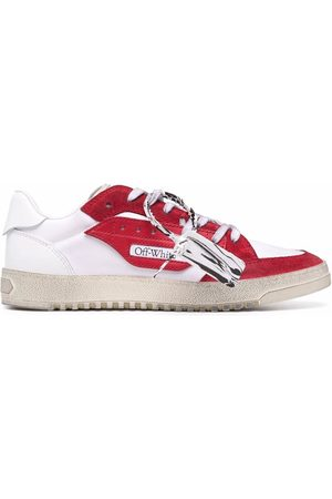 OFF-WHITE NEW SIMPLE SNEAKERS ECO CANV RED V