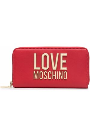 Love Moschino Logo-lettered purse