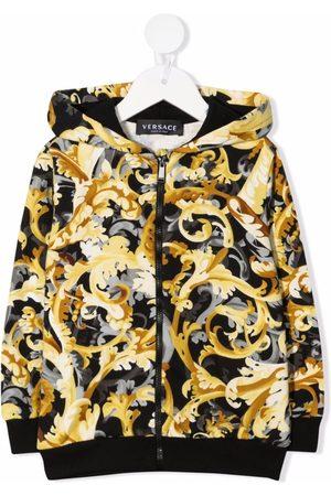 VERSACE Baroccoflage-print hoodie