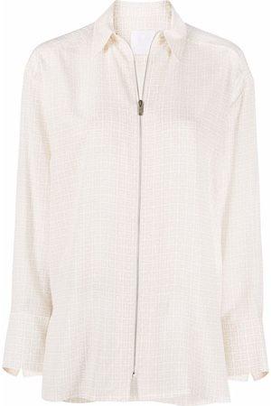 Givenchy 4G-print long-sleeve shirt