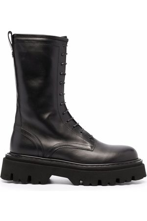 Casadei Ankle combat boots