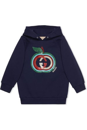 Gucci Apple-print cotton hoodie