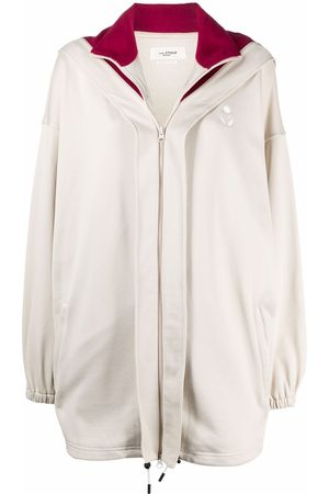 Isabel Marant Isla oversized fleece hoodie