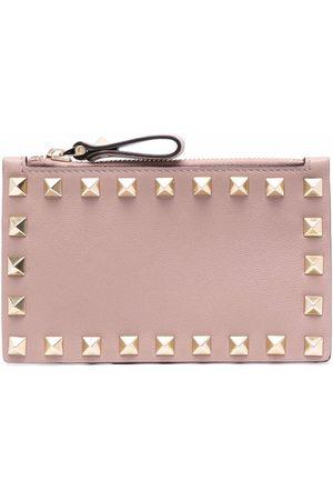 VALENTINO GARAVANI Women Wallets - Rockstud-detail zip cardholder