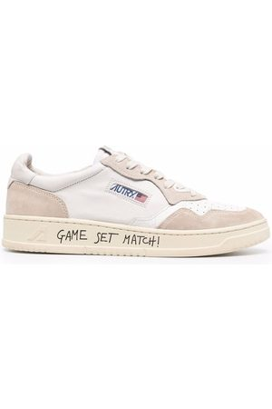 Autry Game Set Match! suede-panel sneakers