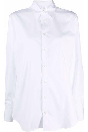 Maison Margiela Button-down poplin shirt