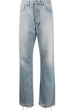 3x1 High-waist straight jeans