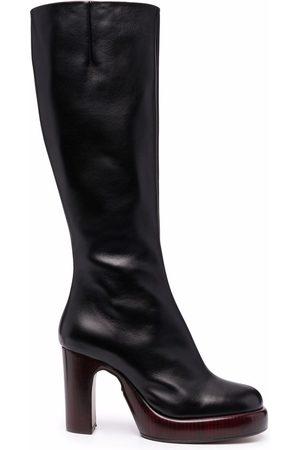 Chloé 95mm knee-length platform boots